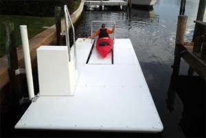 Accudock boarding ladders can be used virtually anywhere.